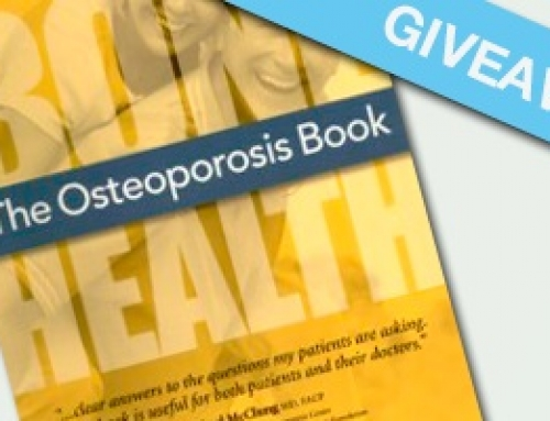 """The Osteoporosis Book: Bone Health"" Giveaway"