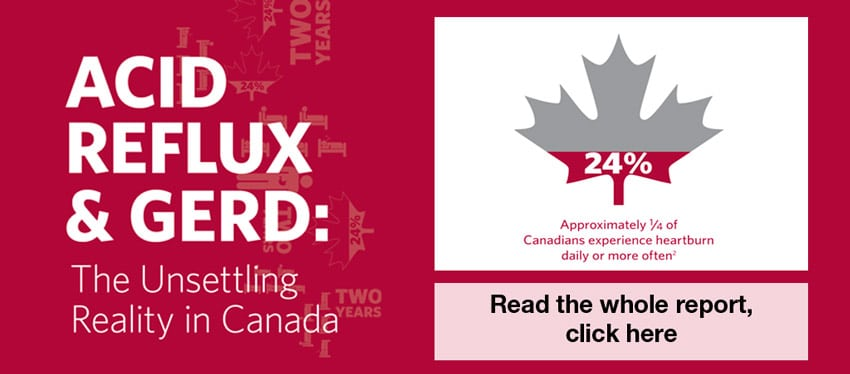 Click here to read the full report card on acid reflux and GERD in Canada